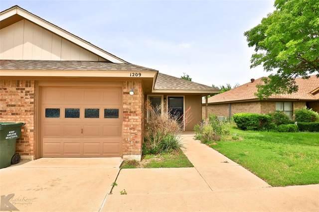 1209 Westheimer Road, Abilene, TX 79601 (MLS #14591105) :: The Russell-Rose Team