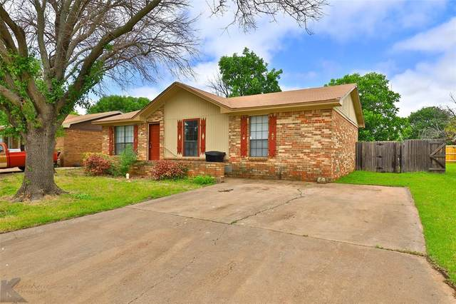3626 Trinity Lane, Abilene, TX 79602 (MLS #14591281) :: Real Estate By Design