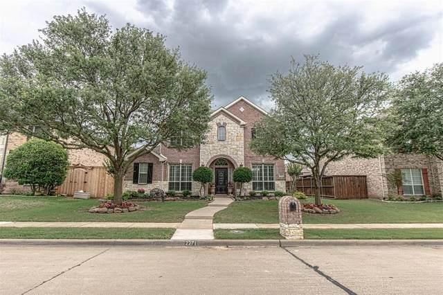 2271 Brazos Drive, Frisco, TX 75033 (MLS #14591357) :: The Good Home Team