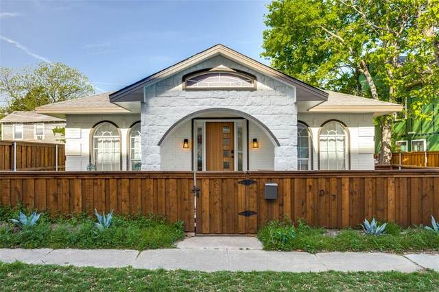 107 N Polk Street, Dallas, TX 75208 (MLS #14592172) :: The Kimberly Davis Group