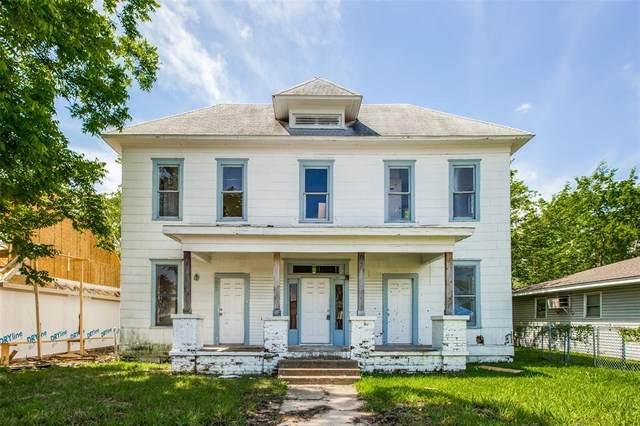 504 W Owings Street, Denison, TX 75020 (MLS #14592237) :: The Good Home Team