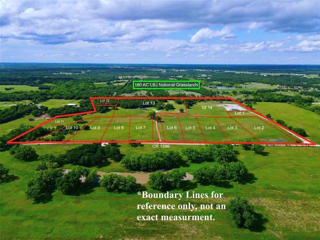 Lot 14 County Road 1596, Alvord, TX 76225 (MLS #14592521) :: The Good Home Team