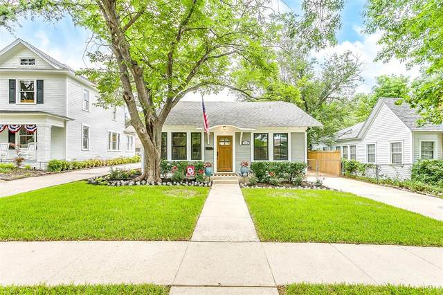 4620 El Campo Avenue, Fort Worth, TX 76107 (MLS #14592745) :: The Russell-Rose Team