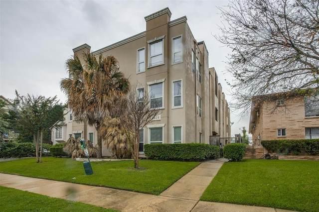 3918 N Hall Street #05, Dallas, TX 75219 (MLS #14592941) :: Team Tiller