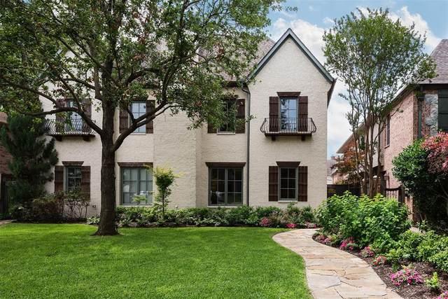 3533 Asbury Street B, University Park, TX 75205 (MLS #14592956) :: Real Estate By Design