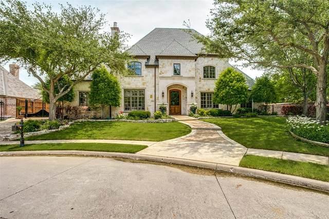 6204 Bristol Place, Frisco, TX 75034 (MLS #14593196) :: The Kimberly Davis Group