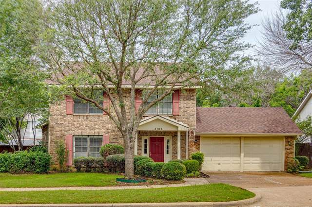 4106 Countryside Drive, Grapevine, TX 76051 (MLS #14593240) :: Front Real Estate Co.