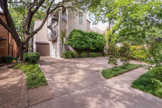 4508 Emerson Avenue A, University Park, TX 75205 (MLS #14594027) :: The Chad Smith Team