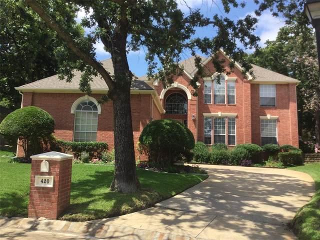 420 Royal Colonnade, Arlington, TX 76011 (MLS #14594058) :: Real Estate By Design