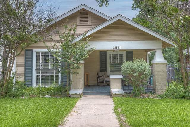 2521 Rogers Avenue, Fort Worth, TX 76109 (MLS #14594751) :: Real Estate By Design