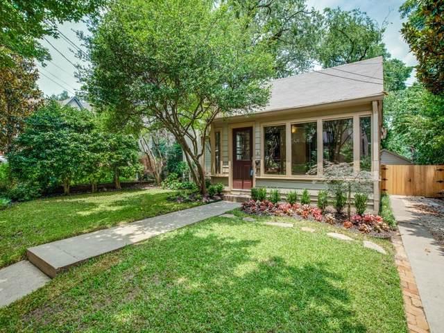 6927 Santa Fe Avenue, Dallas, TX 75223 (MLS #14595118) :: VIVO Realty