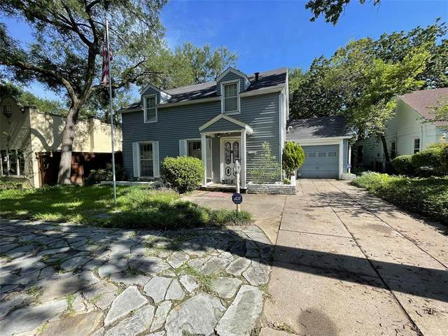 2228 Goldenrod Avenue, Fort Worth, TX 76111 (MLS #14595390) :: The Heyl Group at Keller Williams