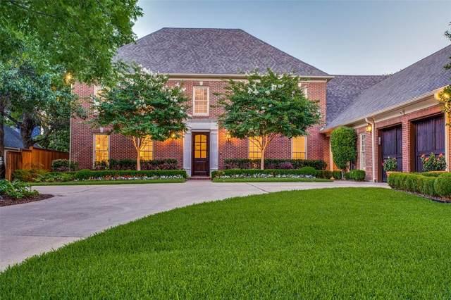 7515 Malabar Lane, Dallas, TX 75230 (#14595407) :: Homes By Lainie Real Estate Group