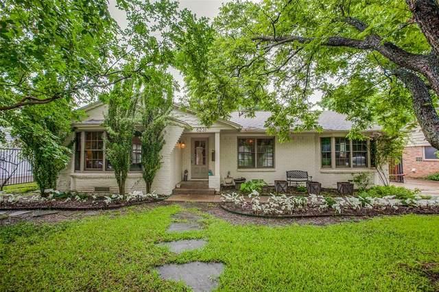 6231 Saint Albans Drive, Dallas, TX 75214 (MLS #14595459) :: Real Estate By Design