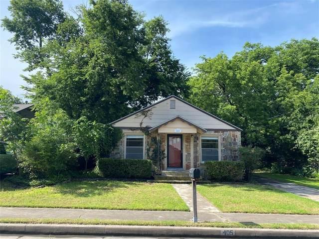 405 Norton Street, Weatherford, TX 76086 (MLS #14595581) :: Real Estate By Design
