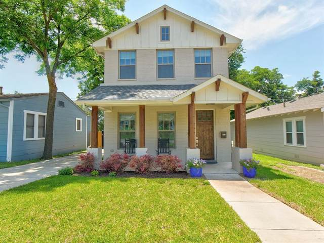 4821 Birchman Avenue, Fort Worth, TX 76107 (MLS #14595902) :: The Russell-Rose Team