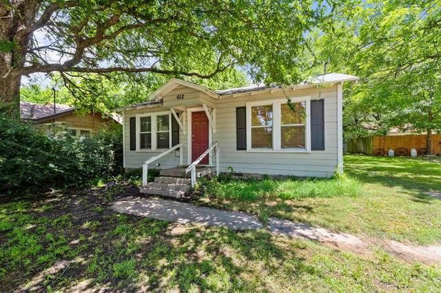 612 N Bradshaw Street, Denton, TX 76209 (MLS #14596086) :: Team Hodnett