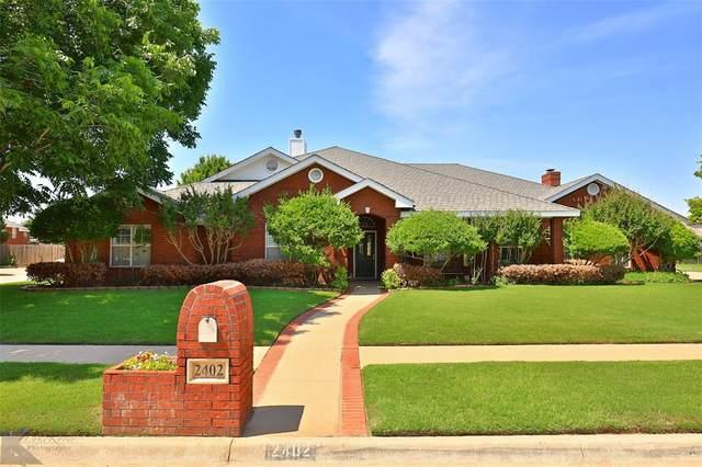 2402 Innisbrook Drive, Abilene, TX 79606 (MLS #14596226) :: Real Estate By Design