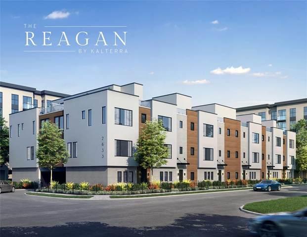 2631 Reagan Street #101, Dallas, TX 75219 (MLS #14596573) :: EXIT Realty Elite