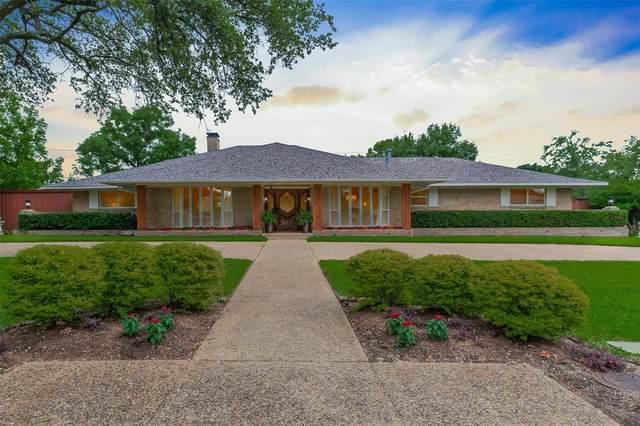 4132 Mendenhall Drive, Dallas, TX 75244 (MLS #14596599) :: Rafter H Realty