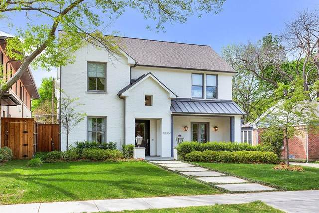 5630 Stanford Avenue, Dallas, TX 75209 (MLS #14596677) :: The Property Guys