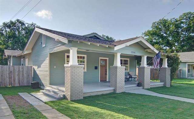 1206 S Seaman Street, Eastland, TX 76448 (MLS #14597182) :: The Hornburg Real Estate Group