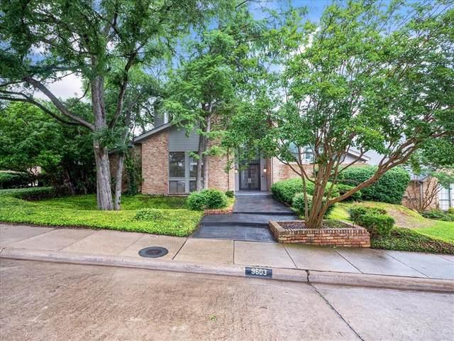 9603 Hilldale Drive, Dallas, TX 75231 (MLS #14597492) :: Real Estate By Design
