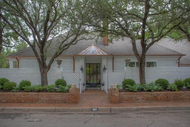 1801 Eldridge Street, Fort Worth, TX 76107 (MLS #14597660) :: The Russell-Rose Team
