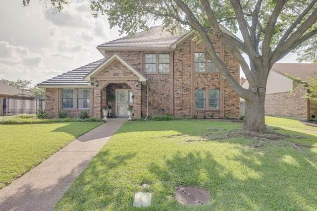 3145 Oakdale Drive, Hurst, TX 76054 (MLS #14597832) :: Real Estate By Design