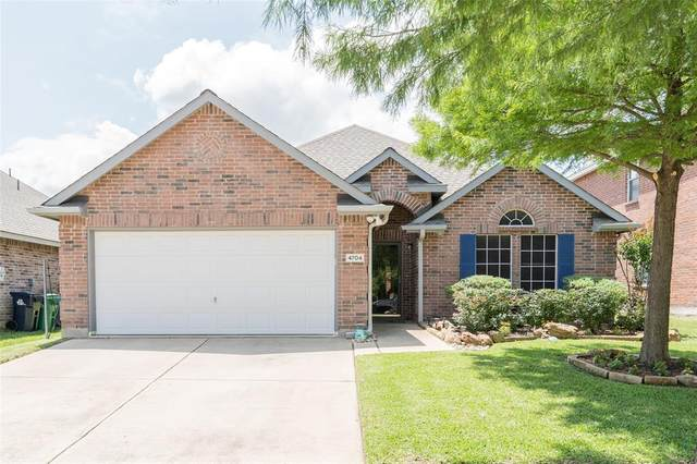 4704 Redbud Drive, Denton, TX 76208 (MLS #14597992) :: Real Estate By Design