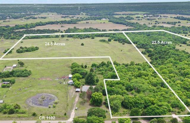 24.5 AC County Rd 1102, Celeste, TX 75423 (MLS #14598051) :: Real Estate By Design