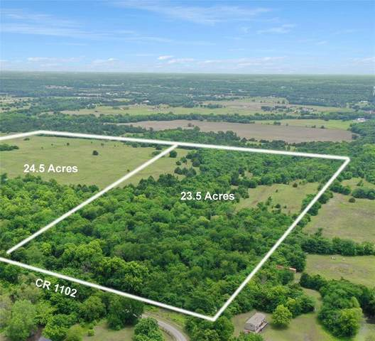 23.5 AC County Rd 1102, Celeste, TX 75423 (MLS #14598059) :: Real Estate By Design
