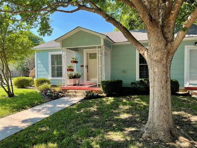 510 W Congress Street, Denton, TX 76201 (MLS #14598311) :: Trinity Premier Properties