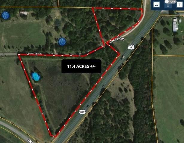 TBD Us Hwy 377 Highway, Gordonville, TX 76245 (MLS #14598351) :: Team Tiller