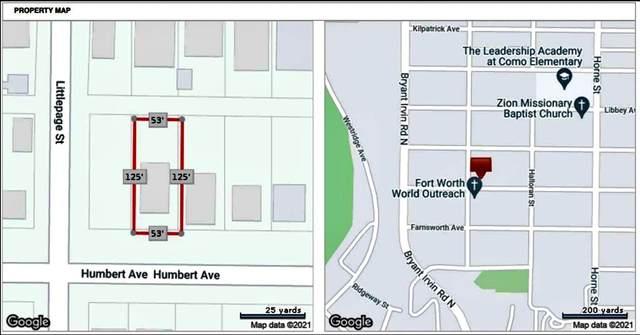 5832 Humbert Avenue, Fort Worth, TX 76107 (MLS #14598545) :: Keller Williams Realty