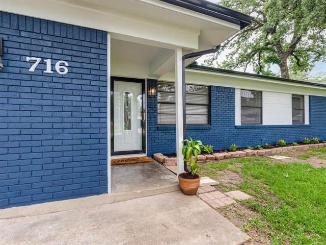 716 W Cedar Street, Hurst, TX 76053 (MLS #14598596) :: The Heyl Group at Keller Williams