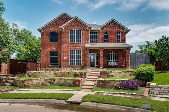 6444 Carriage Lane, The Colony, TX 75056 (MLS #14598790) :: Real Estate By Design
