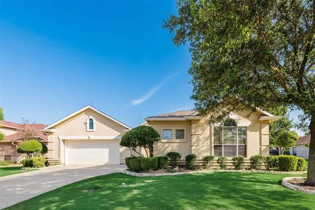 8917 Crestview Drive, Denton, TX 76207 (MLS #14599044) :: The Mauelshagen Group