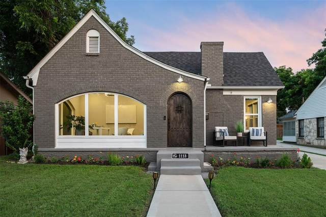 1118 Cascade Avenue, Dallas, TX 75224 (MLS #14599050) :: Real Estate By Design