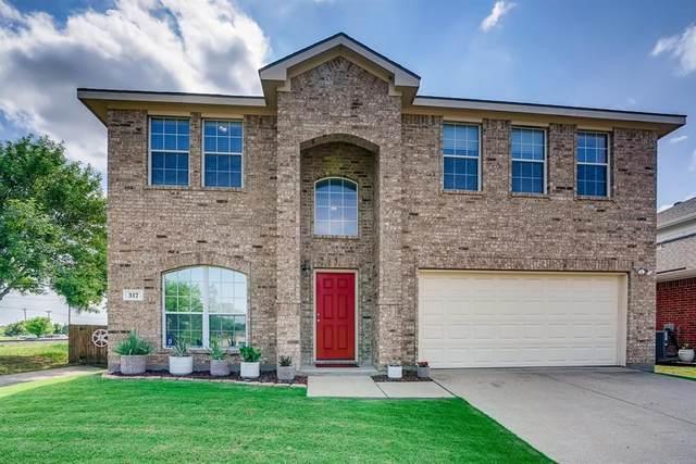 317 Creekview Drive, Wylie, TX 75098 (MLS #14599053) :: The Tierny Jordan Network