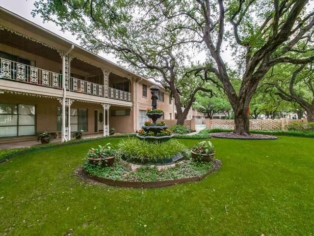6113 Averill Way D, Dallas, TX 75225 (MLS #14599319) :: Robbins Real Estate Group