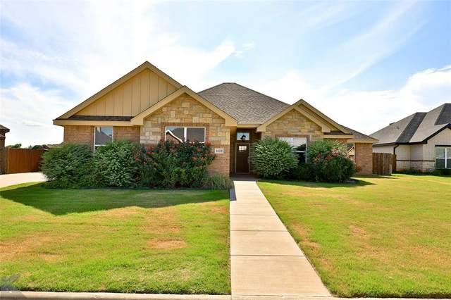 6618 Longbranch Way, Abilene, TX 79606 (MLS #14599437) :: EXIT Realty Elite