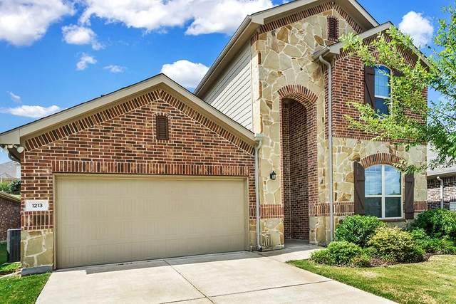 1213 Evers Drive, Mckinney, TX 75071 (MLS #14599480) :: EXIT Realty Elite