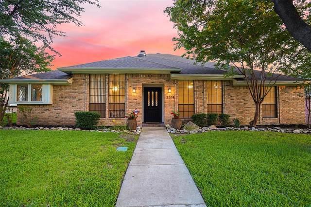 2314 Heatherwoods Way, Carrollton, TX 75007 (MLS #14599549) :: The Mitchell Group