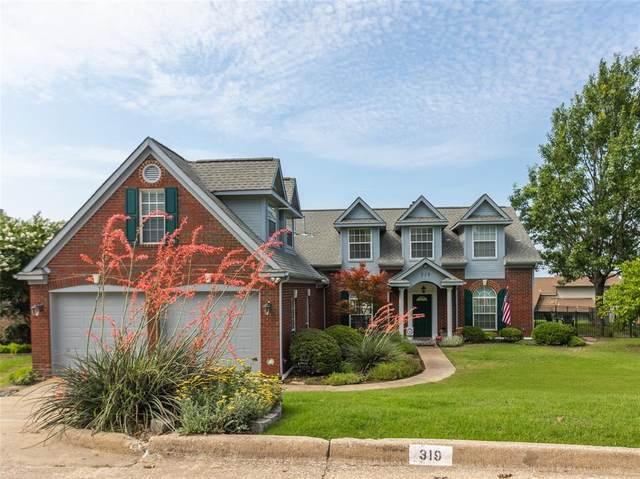 319 Harbor Landing Drive, Rockwall, TX 75032 (MLS #14599662) :: The Good Home Team