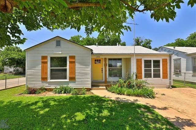 1202 Clinton Street, Abilene, TX 79603 (MLS #14599783) :: Keller Williams Realty