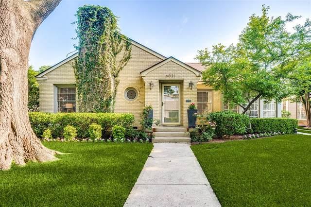 6031 Anita Street, Dallas, TX 75206 (MLS #14600225) :: VIVO Realty