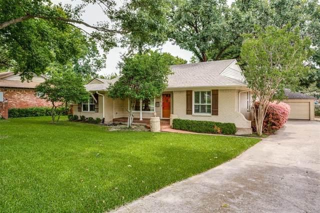 5150 Rexton Lane, Dallas, TX 75214 (MLS #14600252) :: Real Estate By Design