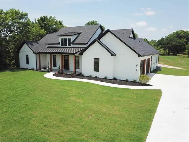 229 Odell Road, Springtown, TX 76082 (MLS #14600408) :: Trinity Premier Properties