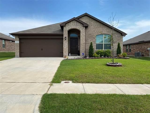 414 Saratoga Lane, Ponder, TX 76259 (MLS #14600428) :: The Rhodes Team